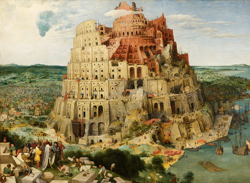 1200px Pieter Bruegel the Elder The Tower of Babel (Vienna) Google Art Project edited redimensionner