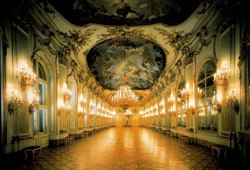 AWC   Inside the Schonbrunn Palace, Vienna